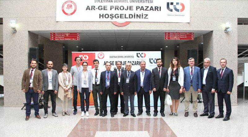 SDÜ TTO Ar-Ge Proje Pazarı Yarışması Gerçekleştirildi